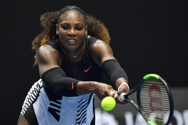 Serena Williams... (Photo Andy Brownbill, AP)