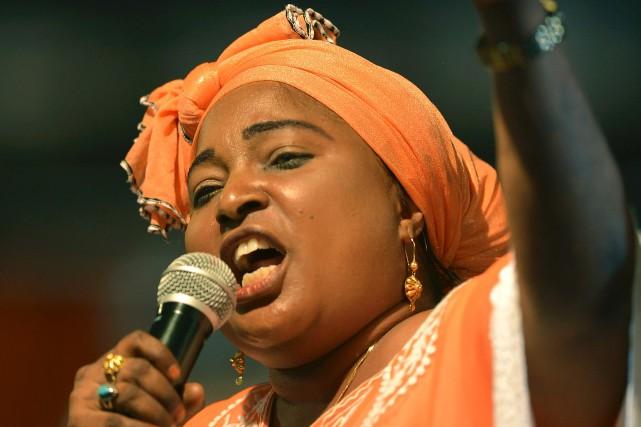 La députée kényane de l'opposition Mishi Mboko.... (Photo Tony Karuma, AFP)