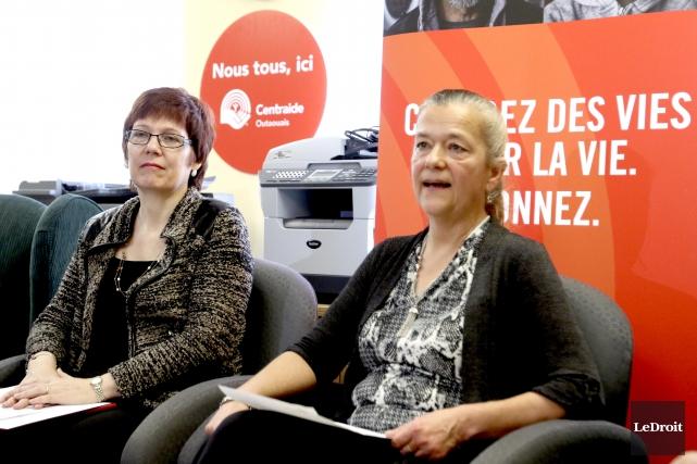 La directrice générale de Centraide Outaouais, Nathalie Lepage,... (Patrick Woodbury, Le Droit)