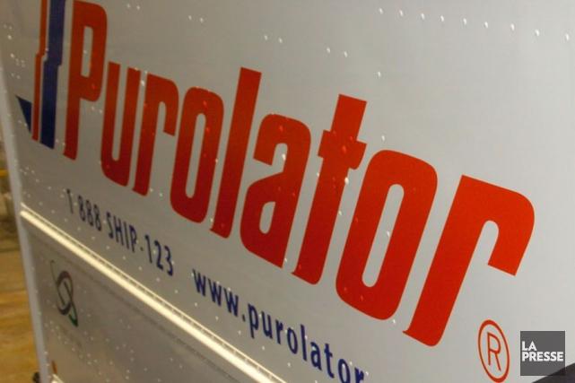 Les syndiqués de Purolator au pays ont voté à 97,4% en faveur de la grève. (Photo archives La Presse)