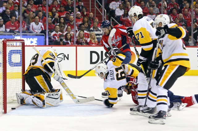 Les Penguins de Pittsburgh ont accordé 22 buts à... (Photo Geoff Burke, USA Today Sports)