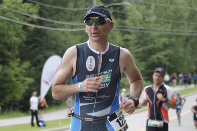 Cyrille Commer a commencé à faire du sport... (photo Salah Chtioui)