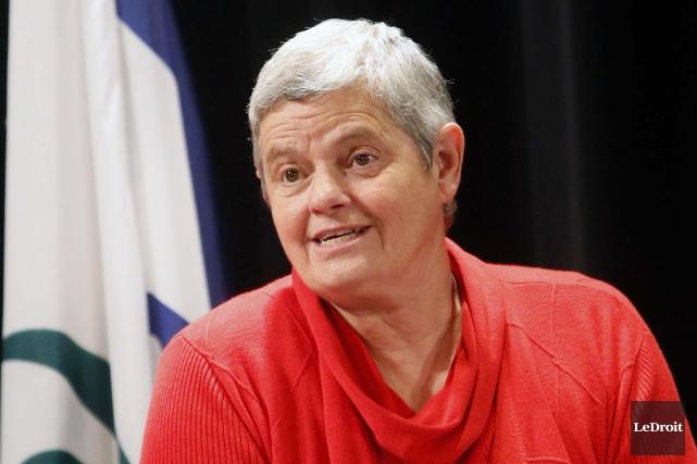 La conseillère Denise Laferrière... (Simon Séguin-Bertrand, Archives LeDroit)