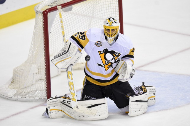 Le gardien de Penguins, Marc-André Fleury... (Archives, Associated Press)