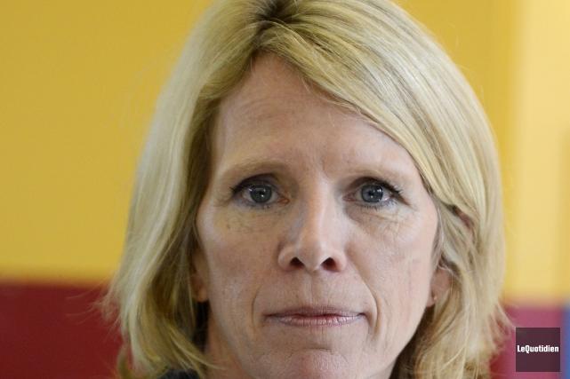 Hélène Aubin, du service des communications à la... (Archives Le Quotidien)