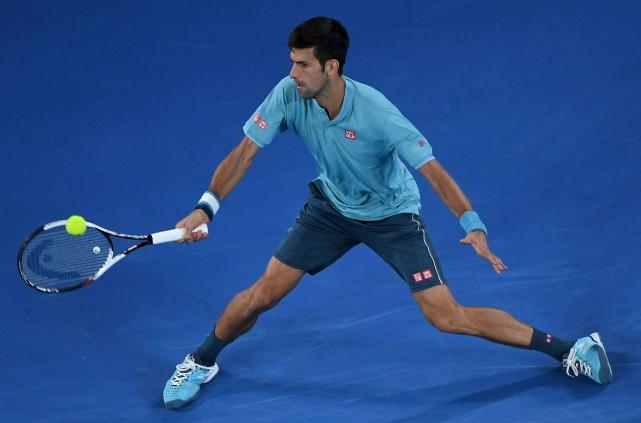 Le Serbe Novak Djokovic l'a emporté en trois... (AFP, William West)
