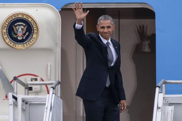 Barack Obama... (Photo Clemens Bilan, archives Agence France-Presse)