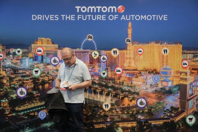 TomTom travaille actuellement au développement de la cartographie... (Photo Jae C. Hong, Archives AP)