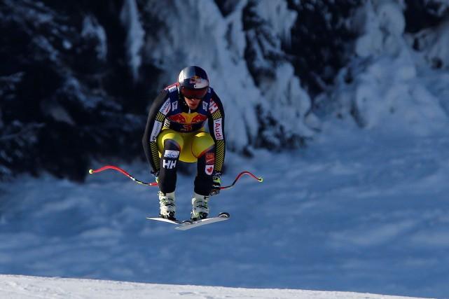 Erik Guay... (Photo Leonhard Foeger, Reuters)