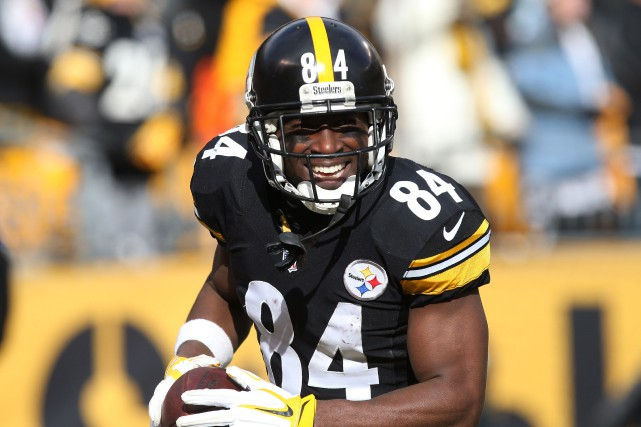 Antonio Brown... (Photo Geoff Burke, USA Today Sports)