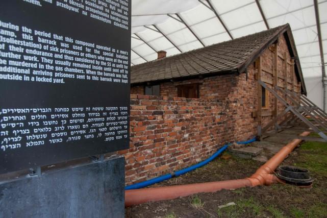 Le musée d'Auschwitz-Birkenau... (PHOTO AFP)