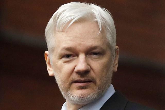 Julian Assange... (Photo Frank Augstein, archives Associated Press)