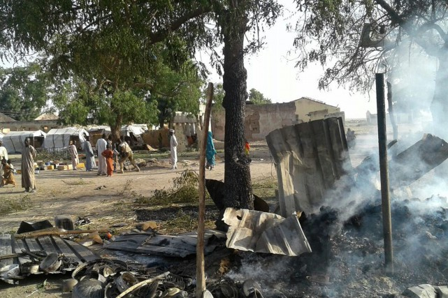 Cette attaque est «choquante et inacceptable», selon le... (Photo Médecins Sans Frontières via AP)