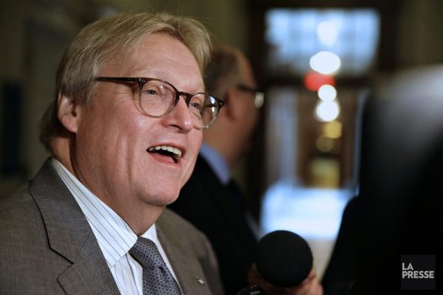 Le ministre de la Santé Gaétan Barrette.... (La Presse)
