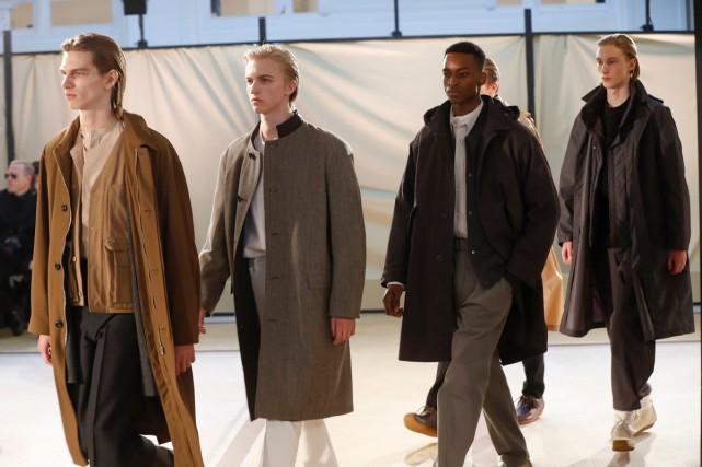 Lemaire, marque des créateurs Christophe Lemaire, ex-Hermès pour... (PHOTO AFP)