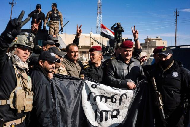 L'EI «a souffert de pertes territoriales sans précédent... (PHOTO AFP)