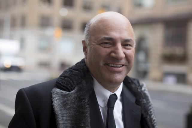 Kevin O'Leary devient le 14e candidat dans la... (La Presse canadienne)