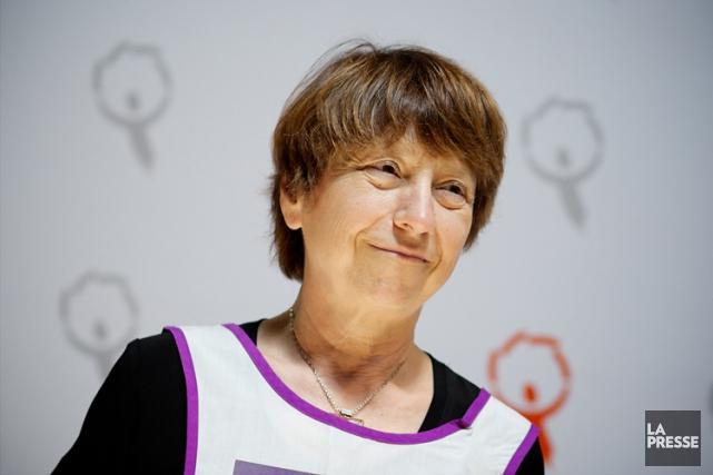 Françoise David... (PHOTO SARAH MONGEAU-BIRKETT, ARCHIVES LA PRESSE)