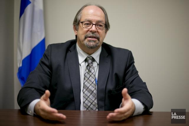 Le ministre responsable des Affaires autochtones, Geoffrey Kelley,... (La Presse, David Boily)