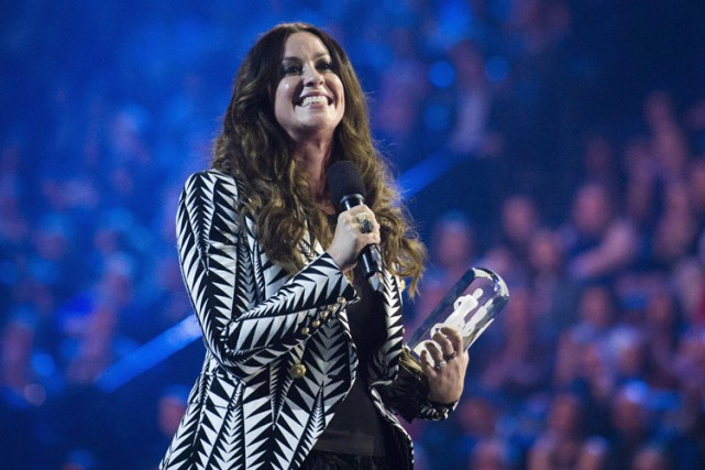 Alanis Morissette lors des Juno Awards, à Hamilton,... (ARCHIVES PC)