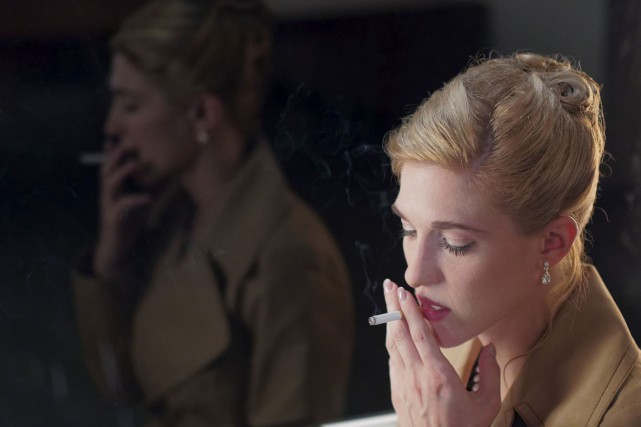 Mylène Mackay incarne avec un aplomb remarquable le... (Fournie par Les Films Séville)