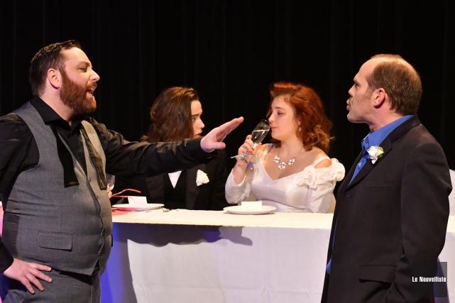 Le Théâtre des Nouveaux Compagnons invite les spectateurs... (Stéphane Lessard, Le Nouvelliste)