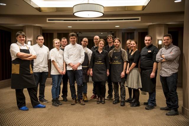 Des chefs, des pâtissiers et des chocolatiers de... (Photo Camille Brunelle)