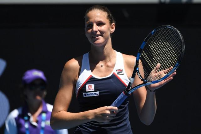 Karolina Pliskova... (PHOTO AFP)