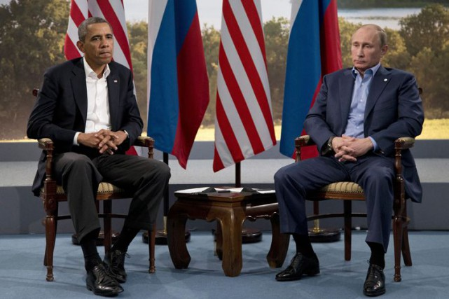 Barack Obama et Vladimir Poutine... (Photo Archives AP)