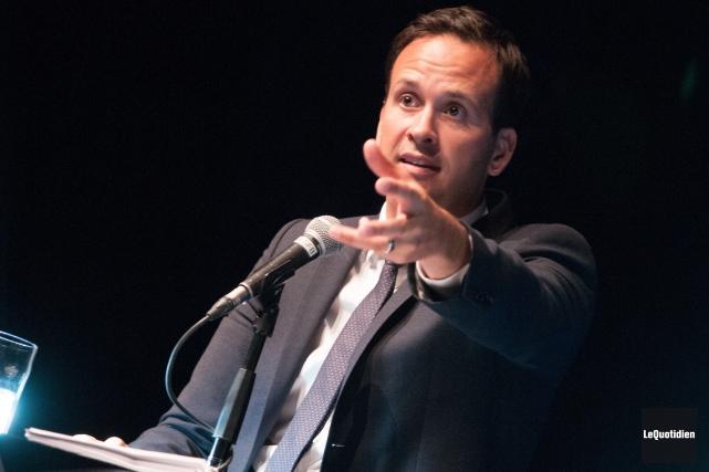 Alexandre Cloutier digère mal que «les Québécois sortent... (Archives Le Quotidien, Michel Tremblay)