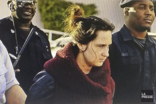Karine Gagné est accusée d'agression sexuelle sur un...