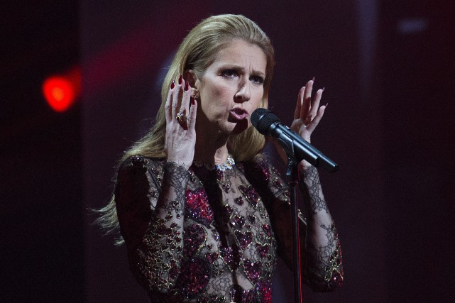 Céline Dion... (PHOTO ARCHIVES LA PRESSE CANADIENNE)
