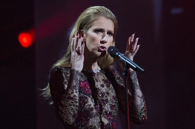 Céline Dion fera partie des artistes qui rendront hommage aux Bee Gees lors... (PHOTO ARCHIVES LA PRESSE CANADIENNE)