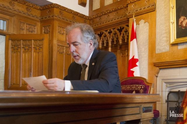Le chef intérimaire du Bloc québécois, Rhéal Fortin... (PHOTO IVANOH DEMERS, ARCHIVES LA PRESSE)