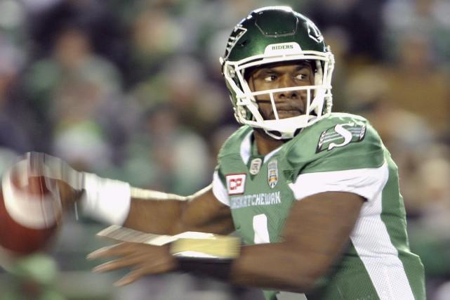 Darian Durant, 34 ans, a signé un contrat... (Archives La Presse canadienne)