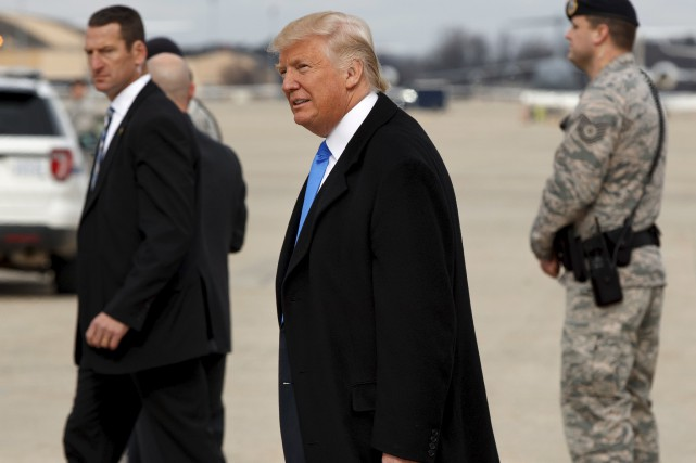 Selon Stephen Harper, la politique étrangère de Donald... (Evan Vucci, Associated Press)