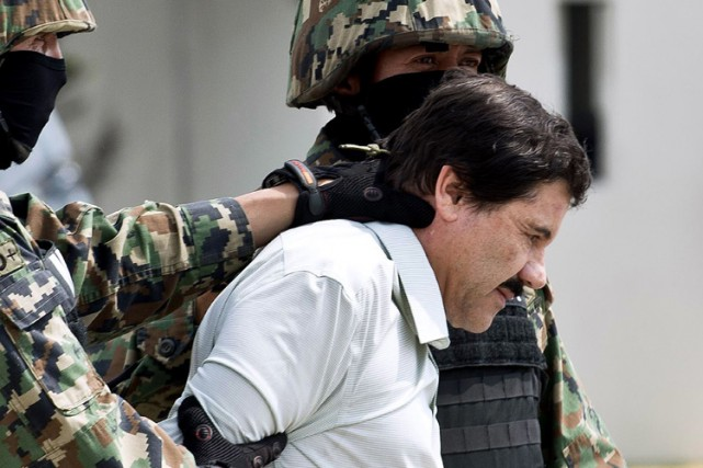 Joaquin «El Chapo» Guzman... (Archives AFP)