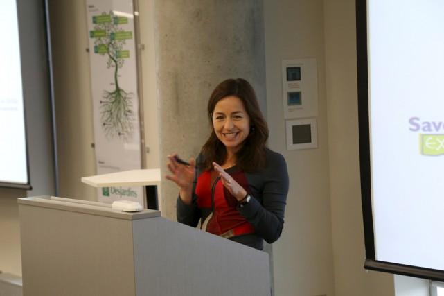 Laure Waridel a offert jeudi midi une conférence... (Janick Marois)