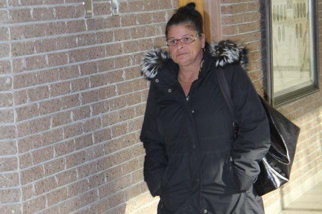 Linda Proulx lors de son procès en 2013.... (Archives, La Tribune)