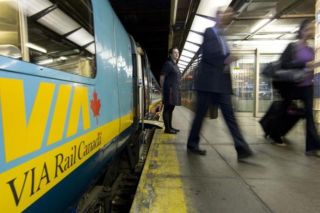 Si le retour d'un service de train de... (La Presse)