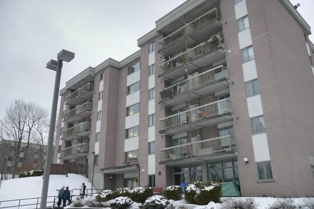 L'immeuble des Habitations Léonidas compte 40 logements répartis... (Spectre Média, René Marquis)