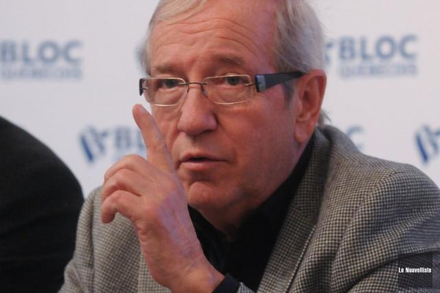 Louis Plamondon... (Francois Gervais, Le Nouvelliste)