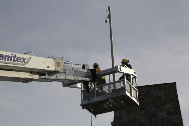 Des caméras de surveillance ont été installées en... (Spectre Média, René Marquis)