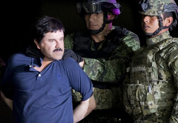 Le narcotrafiquant Joaquin «El Chapo» Guzman devra maintenant... (Archives AP)