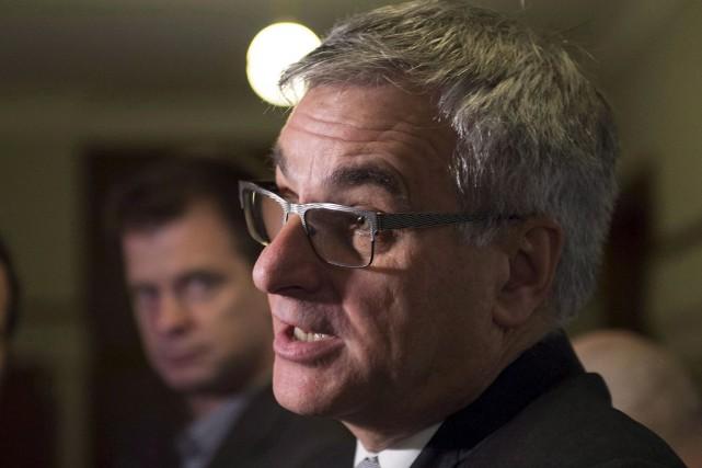 Jean-Marc Fournier, ministre responsable des Relations canadiennes, croit... (Photothèque Le Soleil)