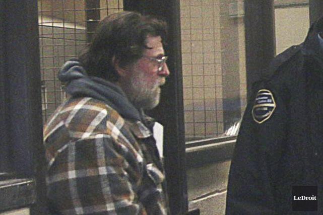 Brian Brownlee est demeuré en détention après sa... (Etienne Ranger, Le Droit)