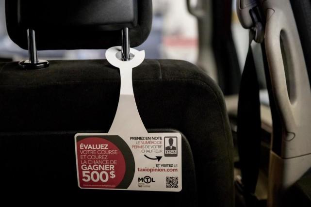 Les clients des taxis de Montréal sont incités... (PHOTO MARCO CAMPANOZZI, LA PRESSE)
