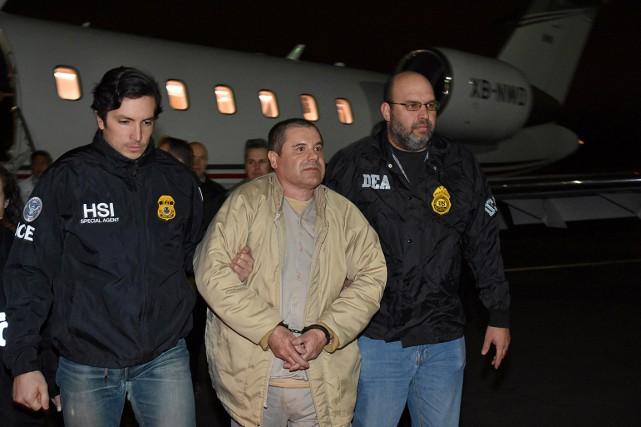 Le baron de la drogue Joaquin «El Chapo»... (PHOTO REUTERS/FOURNIE PAR LES AUTORITÉS AMÉRICAINES)