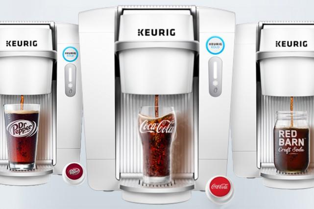 Le système Keurig Kold, permettant de produire des boissons froides notamment... (Courtoisie)