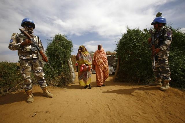 Le Darfour est le théâtre d'un conflit sanglant... (PHOTO ASHRAF SHAZLY, ARCHIVES AFP)